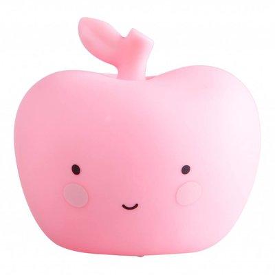 A Little Lovely Company Mini Apple Nachtlicht Apfel pink