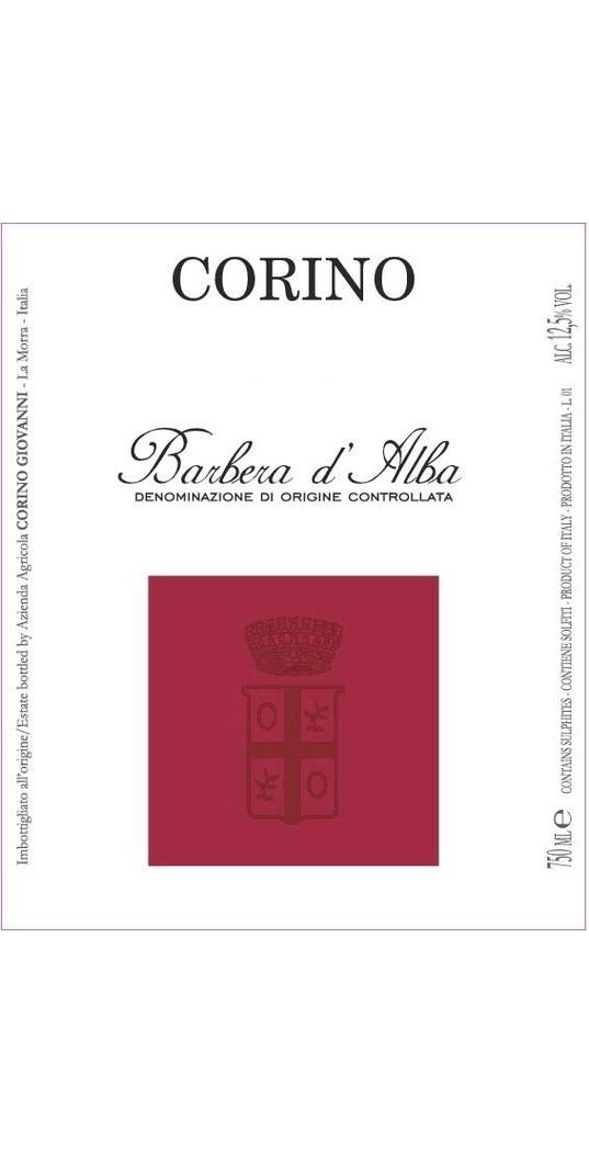 Corino Corino, Barbera d´Alba doc 2017