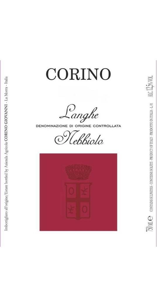 Corino Corino, Langhe Nebbiolo doc 2018