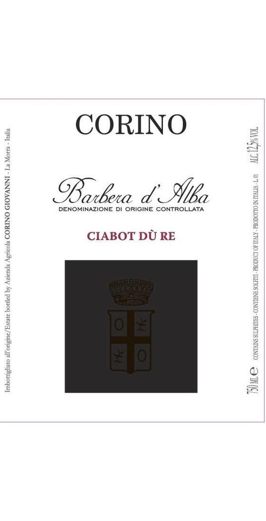 Corino Corino, Barbera d´Alba doc Ciabot dù Re 2017