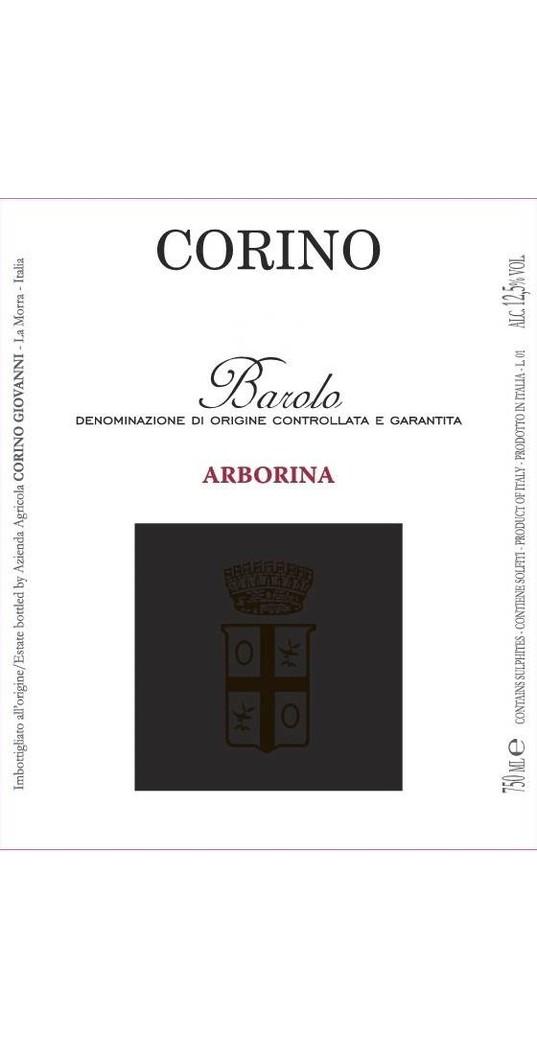 Corino Corino, Barolo docg Arborina 2016