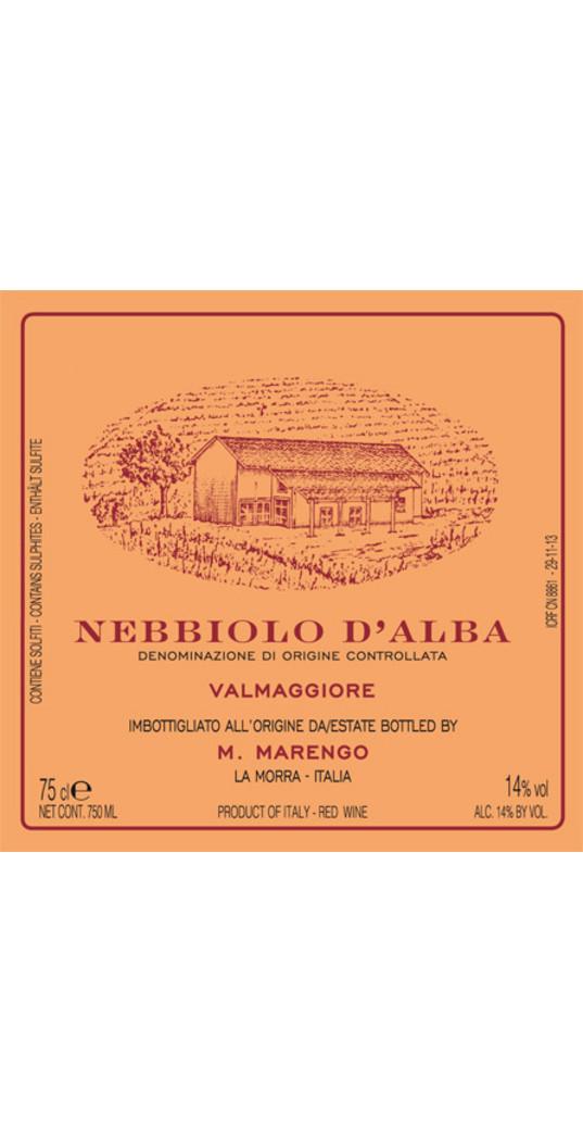 Mario Marengo Mario Marengo, Nebbiolo d´Alba doc Valmaggiore 2018