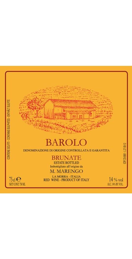 Mario Marengo Mario Marengo, Barolo docg Brunate 2016 1,5 l. Mg.