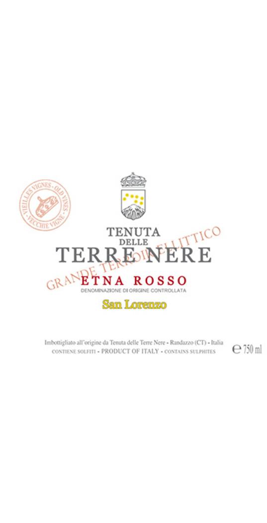 Tenuta delle Terre Nere Tenuta delle Terre Nere, Etna rosso doc San Lorenzo 2018