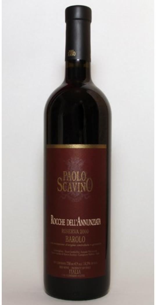 Verschiedene Enrico Scavino, Barolo docg Rocce del Annunziata Riserva 2000