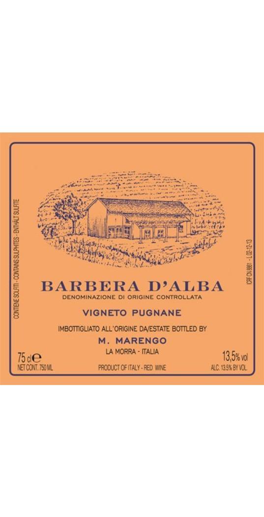 Mario Marengo Mario Marengo, Barbera d´Alba doc Pugnane 2014 1,5 l. Mg.