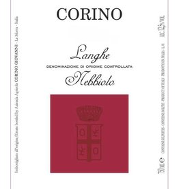 Corino Corino, Langhe Nebbiolo doc 2015