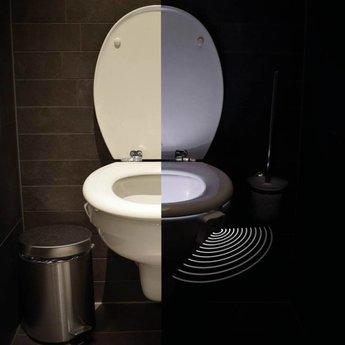 WC Led Verlichting met 8 kleuren en bewegingssensor
