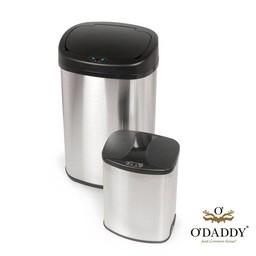 O'DADDY Infrared Trashbin Oval Set