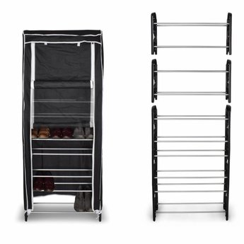 O'DADDY Stackable Shoe Rack With Cover