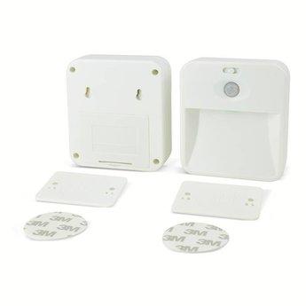Koppelbare LED Nachtlamp met bewegingssensor (set van 2)