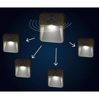 LED night light with motion sensor, 2 pcs