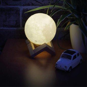 Maan nachtlamp