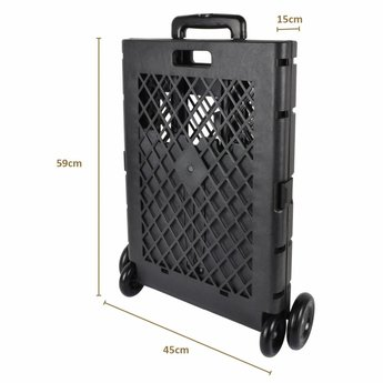 Shopping Crate XXL - foldable- 55L