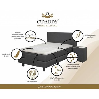 O'DADDY Visco Gel Memory foam mattress topper