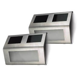 O'DADDY Solar wall lights Sirius (2pcs)