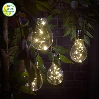 O'DADDY Solarlamp Gloeilamp Asellus(set van 4)