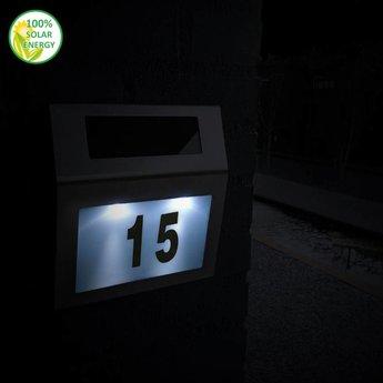 O'DADDY Antares solar huisnummerverlichting