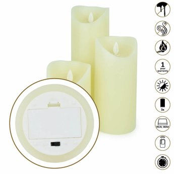 O'DADDY Led Wax kaarsen set (met afstandsbediening)