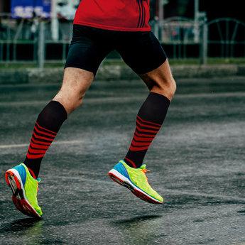 Sport Compressie Sokken Stripes