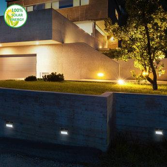 O'DADDY Solar wall lights Sirius (2pcs)