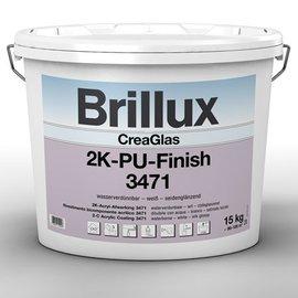 Brillux (Preisgr. suchen) CreaGlas 2K-PU-Finish 3471 + PU-Haerter 3472 *