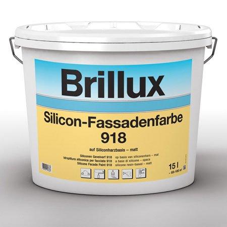 Favorit Brillux TSR-Formel Silicon-Fassadenfarbe 918 (1 L. 20,00 TD57