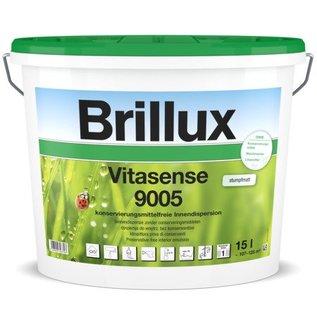 Brillux (Preisgr. suchen) Vitasense 9005  stumpfmatt Deckvermögen Klasse1 (1 L. 9,00€)