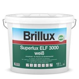 Brillux (Preisgr. suchen) Superlux ELF 3000  / 15 Lt.  / (1 Lt. 6,86€)