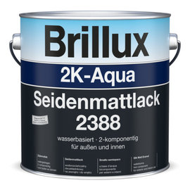 Brillux (Preisgr. suchen) 2K-Aqua Seidenmattlack 2388 einschl. Härter 2380*