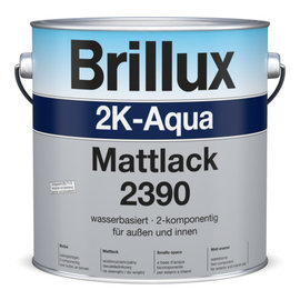 Farbton: ?  Preisgr.   suchen    >> hier <<  2K-Aqua Mattlack 2390 einschl. Härter 2380