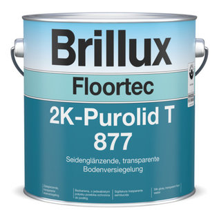 Brillux Floortec 2K-Purolid T 877 einschl. Floortec PU-Härter 879