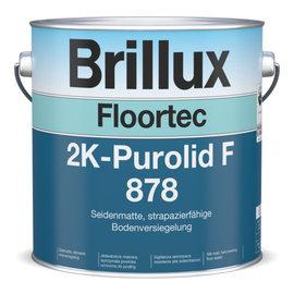 Brillux (Preisgr. suchen) Floortec 2K-Purolid F 878 einschl. Floortec PU-Härter 879
