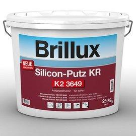 Brillux (Preisgr. suchen) Silicon-Putz KR K2 3649*