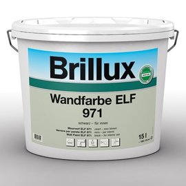 Brillux Wandfarbe LF 971 Schwarz*