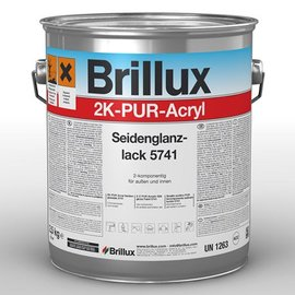Brillux (Preisgr. suchen) 2K-PUR-Acryl Seidenglanzlack 5741*