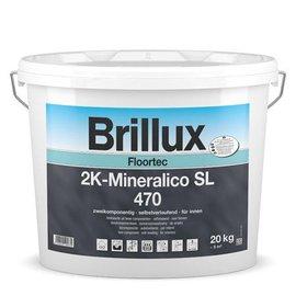 Brillux (Preisgr. suchen) Floortec 2K-Mineralico SL 470 mit Härter 471