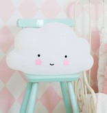 Little Lovely Company A LITTLE LOVELY COMPANY - Grote lamp wolk Wit