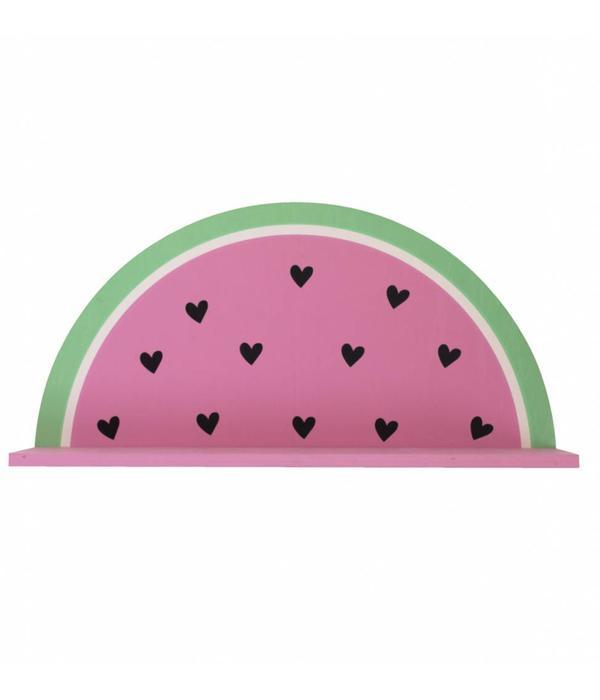 A Little Lovely Company A LITTLE LOVELY COMPANY - Wand plankje watermeloen