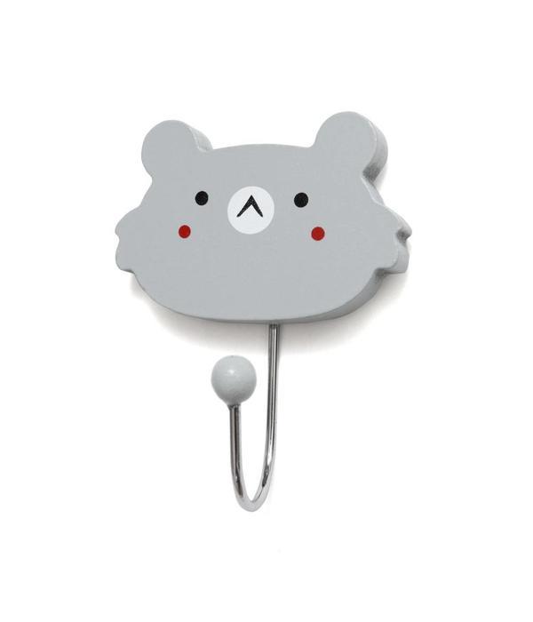 Petit Monkey PETIT MONKEY - Haak Koala Grijs