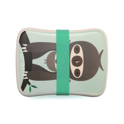 Petit Monkey PETIT MONKEY - Lunchbox sloth green