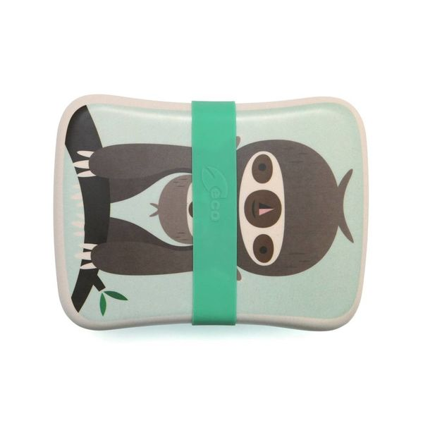 PETIT MONKEY - Lunchbox Sloth Green