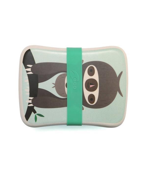 Petit Monkey PETIT MONKEY - Lunchbox Sloth Green