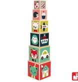 Janod Janod - Stapelblokken Baby Forest