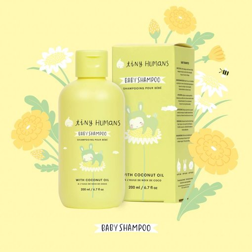 Tiny Humans TINY HUMANS - Babyshampoo