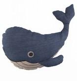 Sass & Belle SASS & BELLE - Kussen Blue Whale
