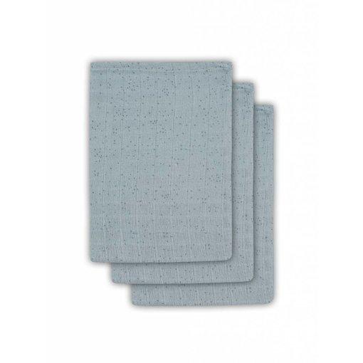 Jollein JOLLEIN - Hydrofiele washandjes 3 pack Stone green