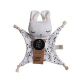 Wee Gallery WEE GALLERY - Knuffeldoekje konijn Spetters