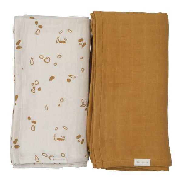 FABELAB - Hydrofiele swaddle 2 pack Pine cones