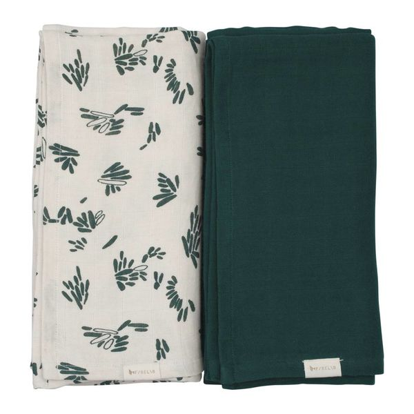 FABELAB - Hydrofiele swaddle 2 pack Forest floor